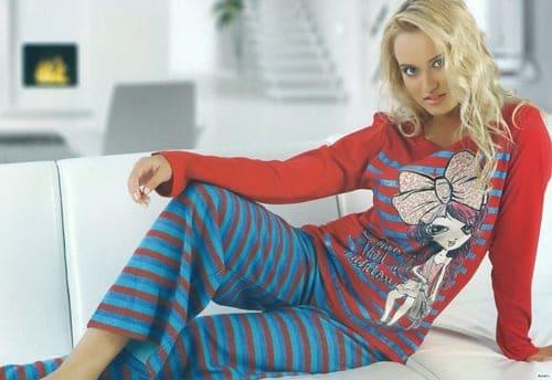yazlık bayan pijama
